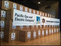 Lockdown Kits co-sponsored by PG&E