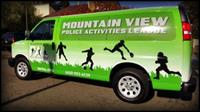 MVPAL Van Wrap through donations