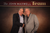 John Maxwell with Dave Henning