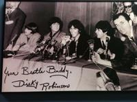 My boss, Connecticut School of Broadcasting Founder Dick Robinson with The Beatles