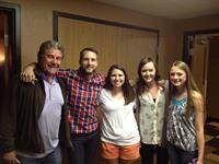 Hanging out with Nashville recording artist Brandon Heath