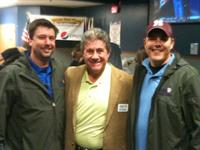 Dave with founders of Purple Heart Homes USA John Gallina and Dale Beatty