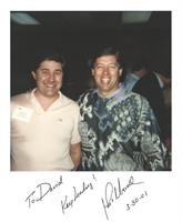 John Maxwell with Dave Henning, San Diego 1988