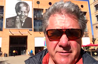 At Nelson Mandela Square, Johannesburg, South Africa