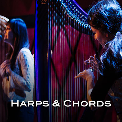 Join us Tuesday, September 24, 2019 at Dickinson State University. This new duo from New York City features harpist Jacqueline Kerrod and vocalist Daisy Press. Performing contemporary and popular music from various decades, they have created a strong following for their intimate yet energetic performances.