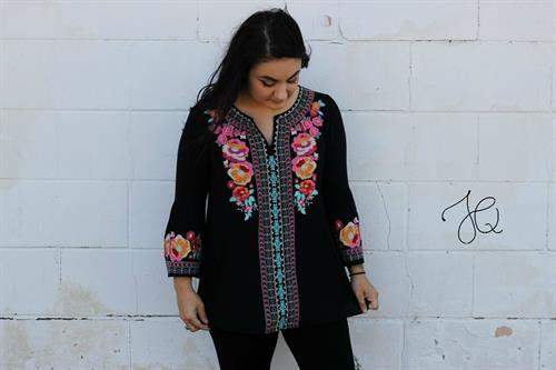 Embroidered with Love Tunic