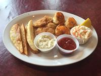 Friday Fish Fry (gulf shrimp & walleye)