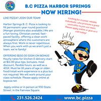 Kitchen Staff, Delivery, & Manager Positions Available!