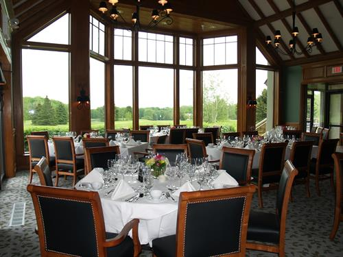 Our finer dining Grill Room, reservation only
