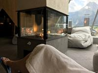 The wellness culture in the alps in Tirol, Austria is amazing!