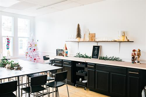 Christmas in the Gather studio