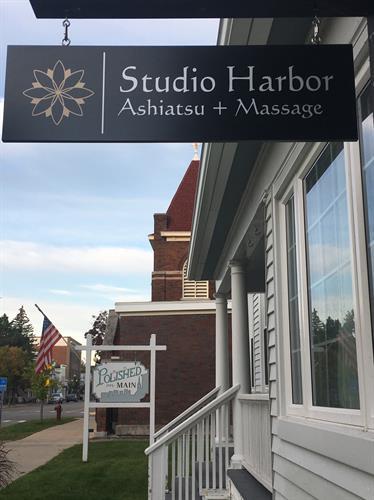 Harbor Springs massage at Studio Harbor