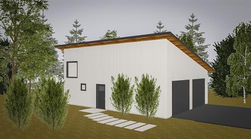 Modern Studio & Garage