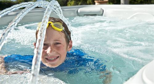 Hot Tub Fun!