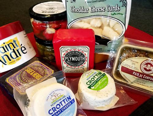 Check Out our Gourmet Market and Deli Items Available
