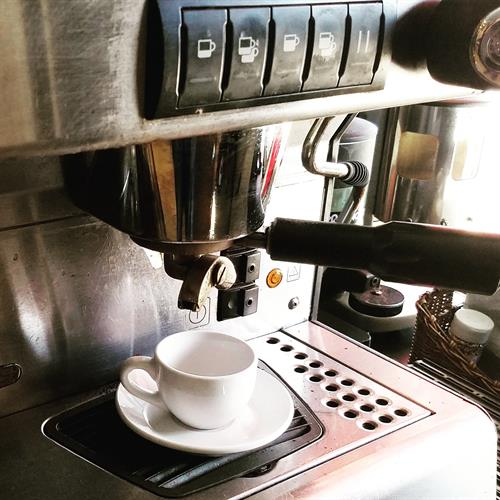 Espresso, Latte, Cappuccino... Pulled with Locally Roasted Espresso Beans