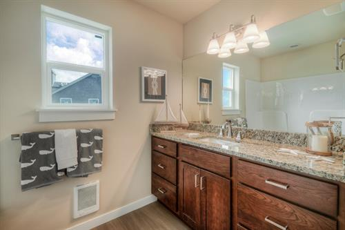 Fresh and New Bathrooms in Coast Cottage