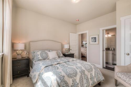 Main Level Bedroom with Ensuite Bath in Ocean Cottage