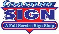 Coastline Sign