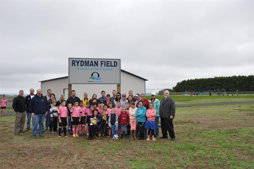 Rydman Field Dedication