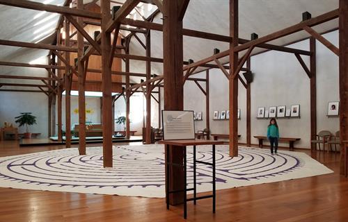 Meditation labyrinths welcome all