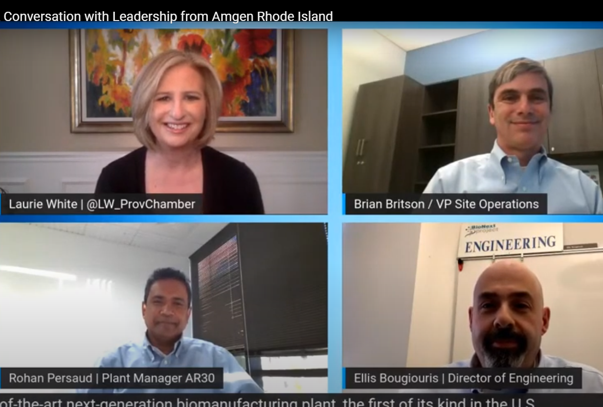 A Conversation with Leadership from Amgen Rhode Island