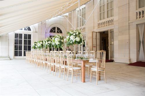 King's Table - Style Event at Marble House