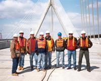 Pare project tour - Leonard P. Zakim Bunker Hill Bridge