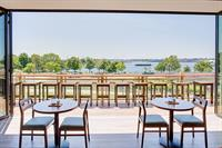 New bar and lounge with wonderful views of the Providence Harbor