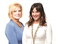Gail Morris and Stacey Liakos, managing partners of Omnia Agency