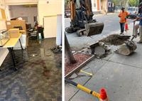 Severe Flooding and Sewage Backup on the East Side Damages FSRI Hope Street Office