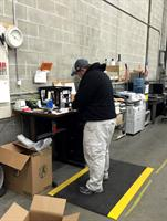 Mike, our Warehouse Manager