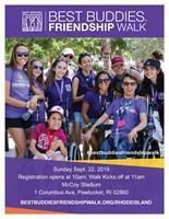 Best Buddies Friendship Walk at McCoy Stadium on Sept 22nd!