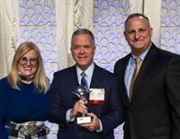 Robert Brooks Receives President's Award from RI Hospitality Association