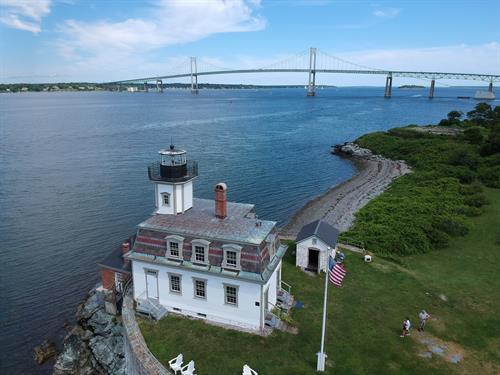 Rose Island buildings assessment and maintenance programs