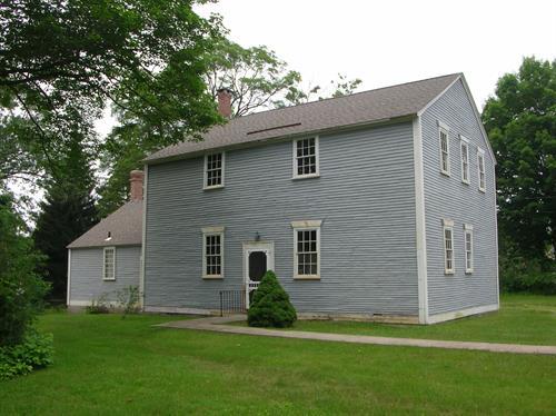Sayleville Meeting House, Lincoln, RI exterior restoration