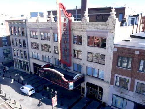 Providence Performing Arts Center window restoration