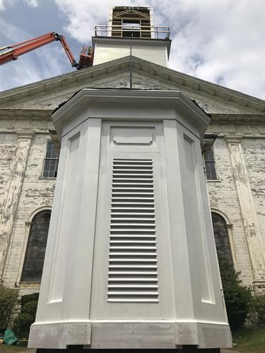 New Bedford, MA First Baptist Church Lantern Reconstruction