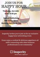 Insperity Happy Hour at Sprout News Release: 10/7/2019
