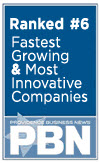 PBN 6th Fastest Growing & Most Innovative Company