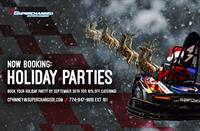 Holiday Party Discount at Supercharged Entertainment!
