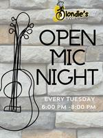 Open Mic at Blondie's Food & Spirits