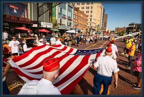 Opening Ceremony Celebrates our Veterans