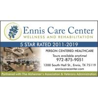 Ennis Care Center Wellness & Rehabilitation - Ennis