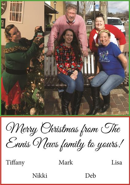 Merry Christmas from Ennis News