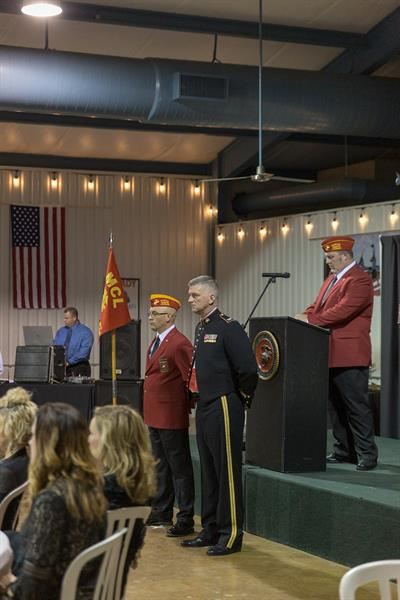 Marine Corps Birthday Ball (2018) - Commandant & Guest of Honor (Col. Von Pigg)