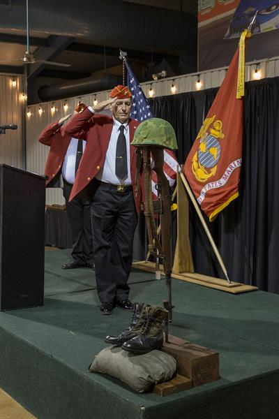 Marine Corps Birthday Ball (2018) - Chaplains Salute