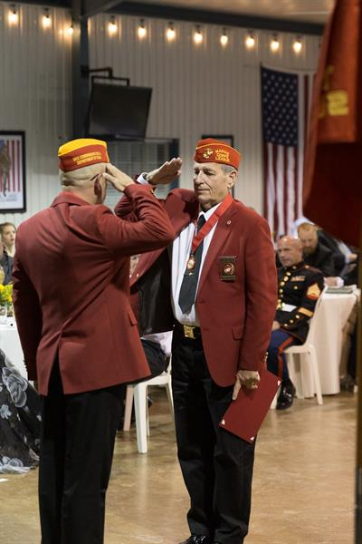 Marine Corps Birthday Ball (2018) - More awards presented by Commandant Bell