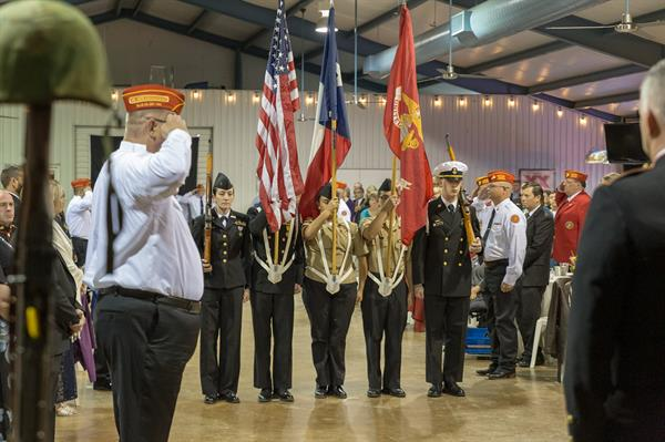 Marine Corps Birthday Ball (2018) - Red Oak JROTC Color Guard