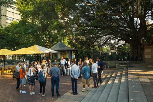 Another short-format Gone Bush session kicks off Sydney's CBD parklands